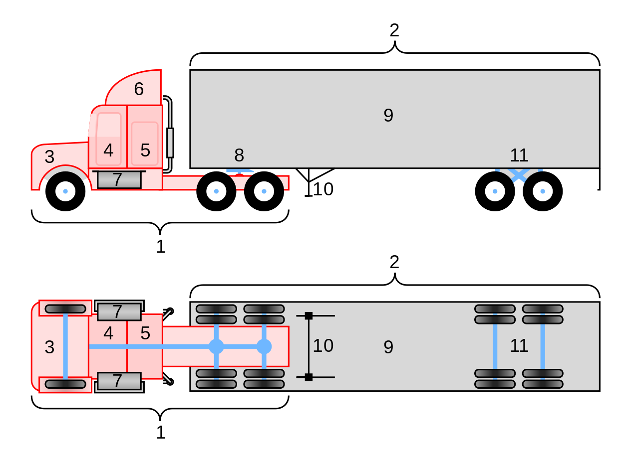 clipart freeuse trailer drawing diagram #105029948
