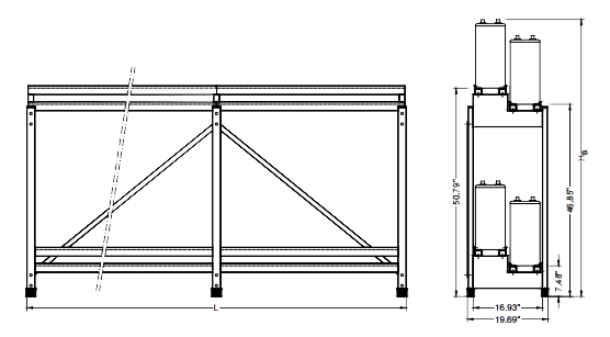clipart download Standard Battery Rack Drawings