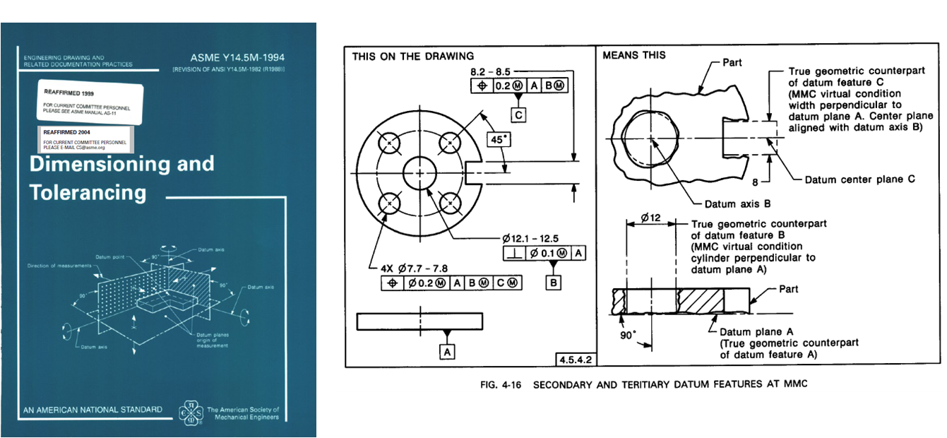 vector royalty free stock Drawing dimensions datum.  catia simple for