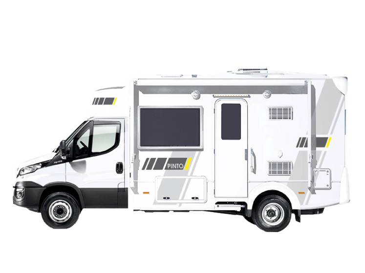 banner free library rv drawing concept #102491463