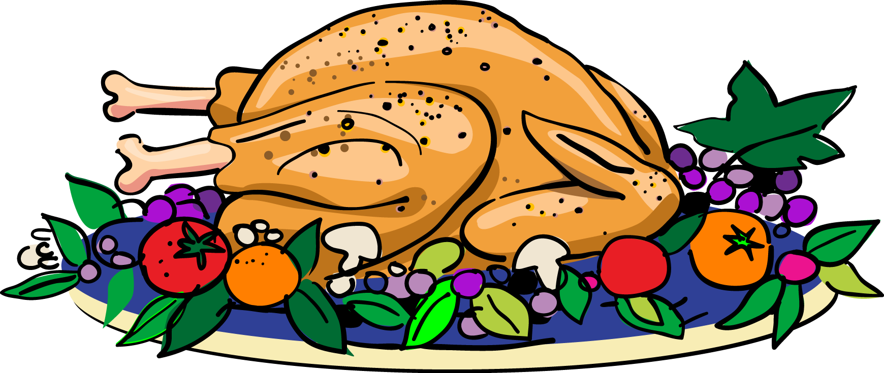 banner transparent library Thanksgiving dinner cilpart unbelievable. Meal clipart home cooked meal.