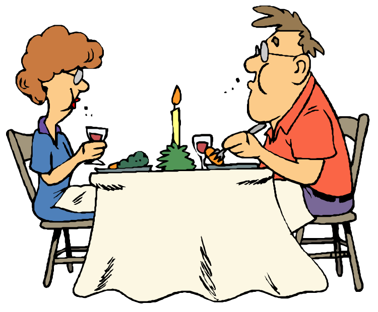 picture free stock Dinner table clip art. Dining clipart