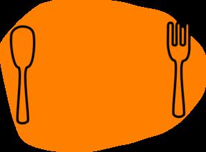 banner transparent Dinner plate clip art. Dining clipart