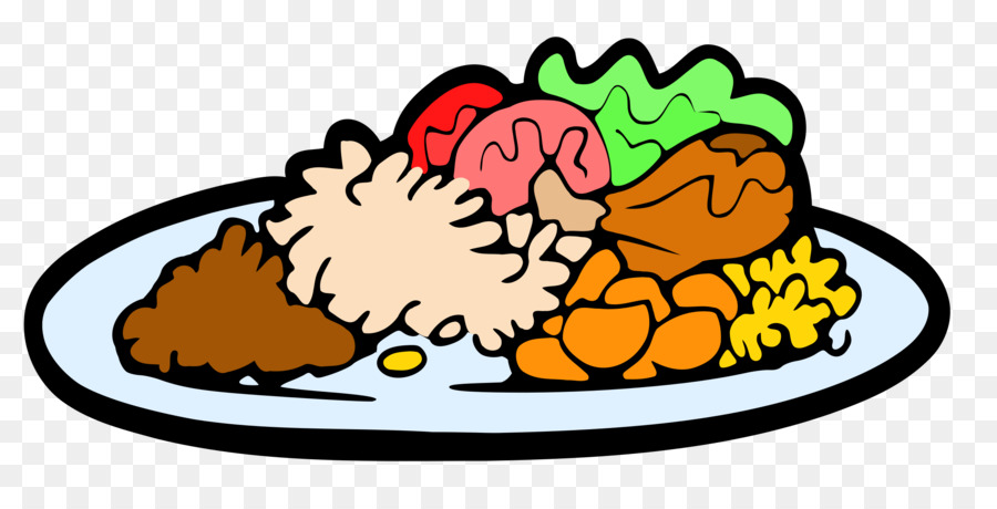 svg transparent download Meal clipart. Christmas cartoon dinner food