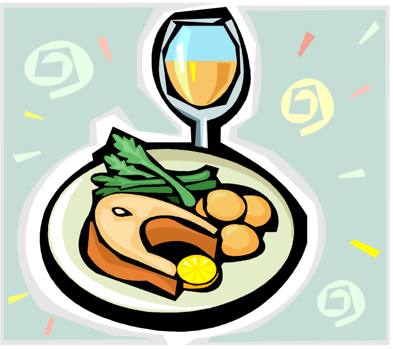 svg royalty free stock Free images clipartix . Dinner clipart