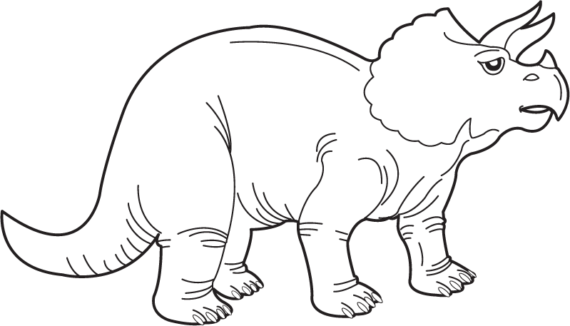 clip Dinosaur clipart black and white. Image of cute