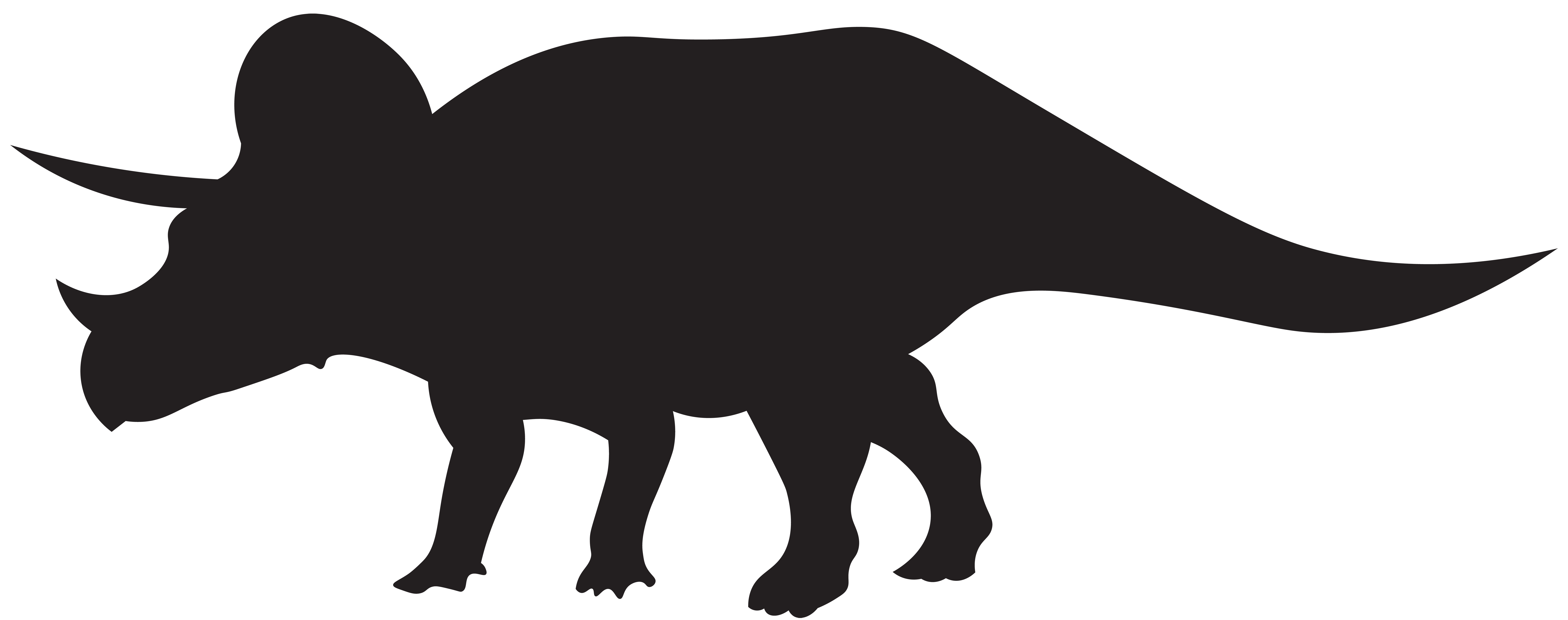 clipart black and white library Mail carrier clipart black and white. Dinosaurs triceratops silhouette png
