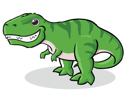 jpg black and white library Free dinosaur clipart the cliparts