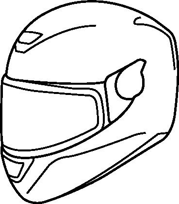 clip art transparent download Dirt Bike Helmet Drawing at GetDrawings