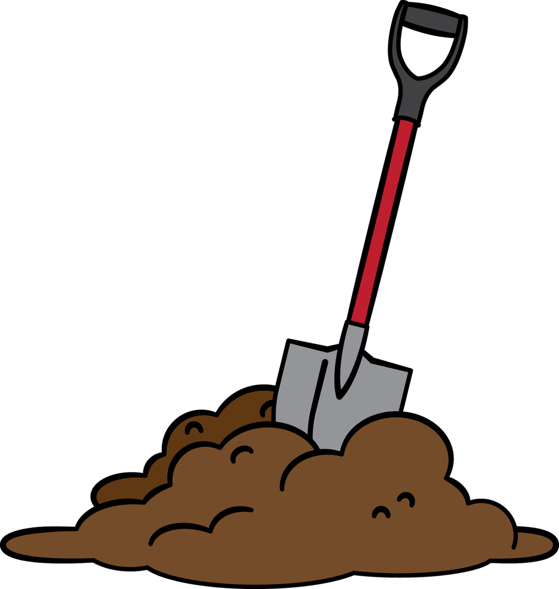 png royalty free download Shovel free on dumielauxepices. Dirt clipart.