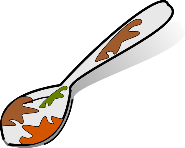 picture stock Dirty clipart. Spoon clip art at.