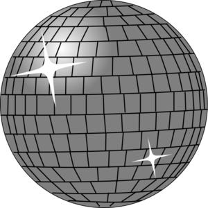 graphic free Ball clip art at. Disco clipart