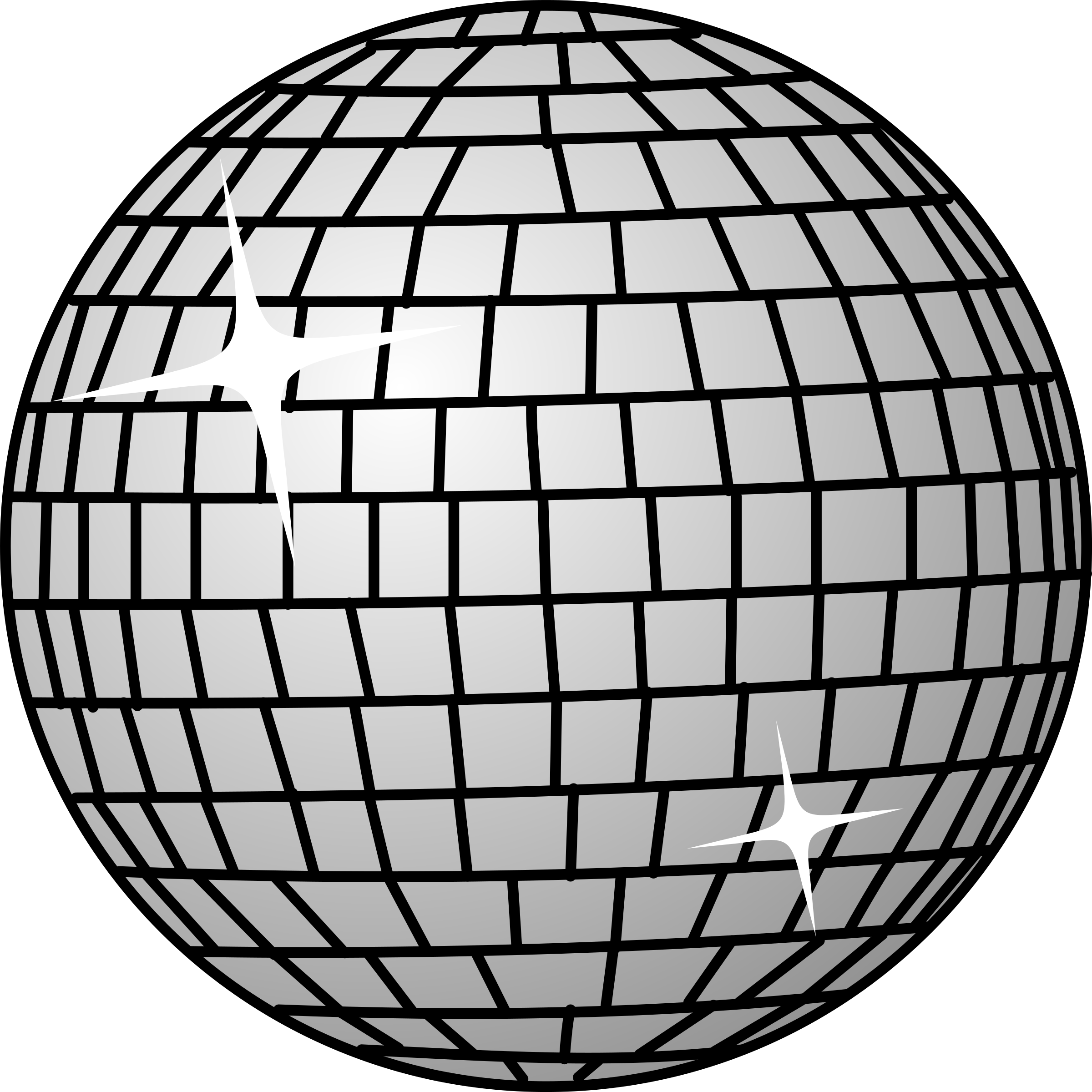 svg free library Ball big image png. Disco clipart