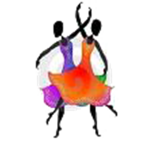 svg library Ballet dancers free images. Disco clipart aerobic dance