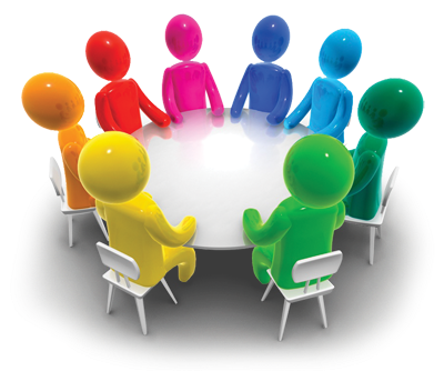 graphic free Small discussion . Group clipart.