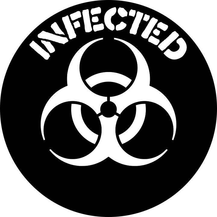 svg black and white Microscope clipart infectious disease. Laboratory sign google search.