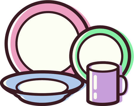 picture library download Free dish cliparts download. Dishes clipart