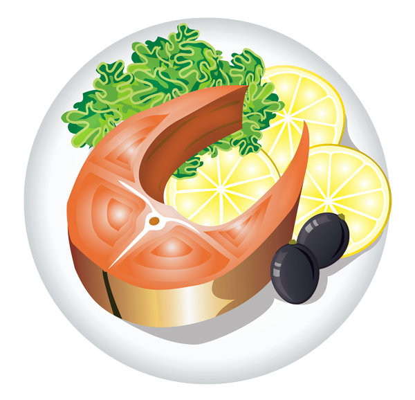 royalty free Cliparts meal free download. Dish clipart
