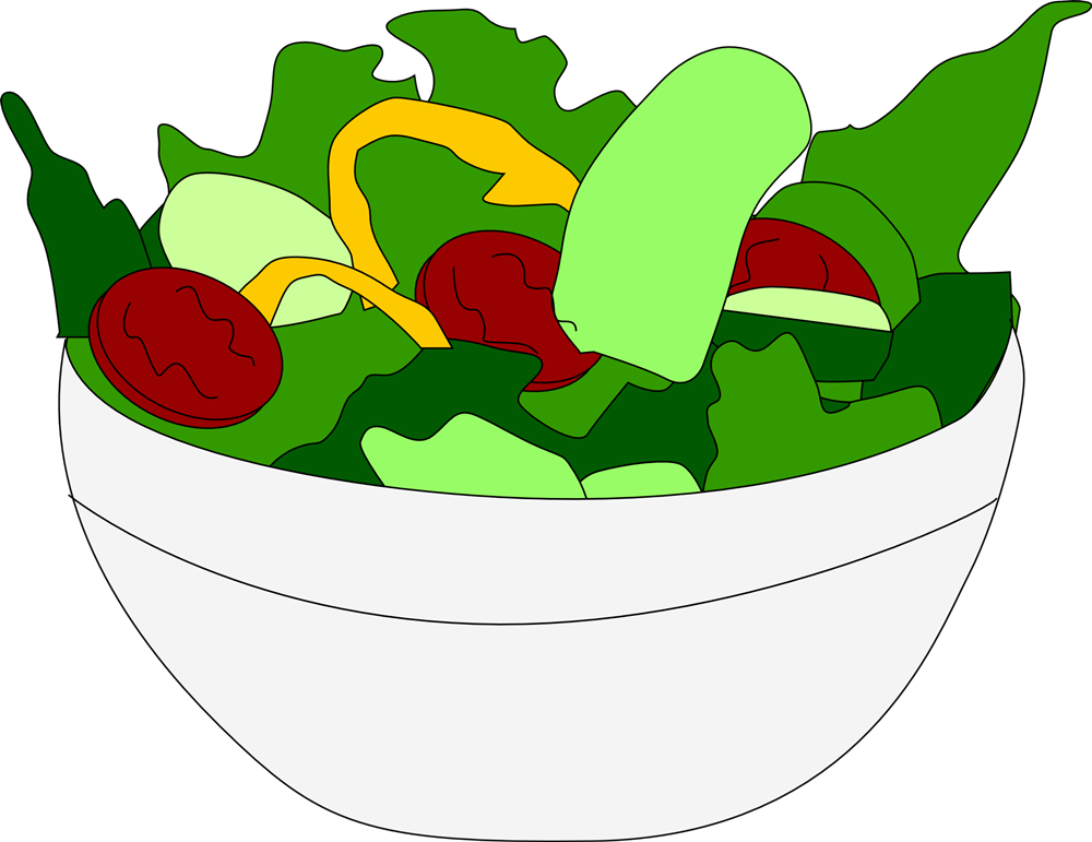 download Salad plate free on. Ham clipart entree