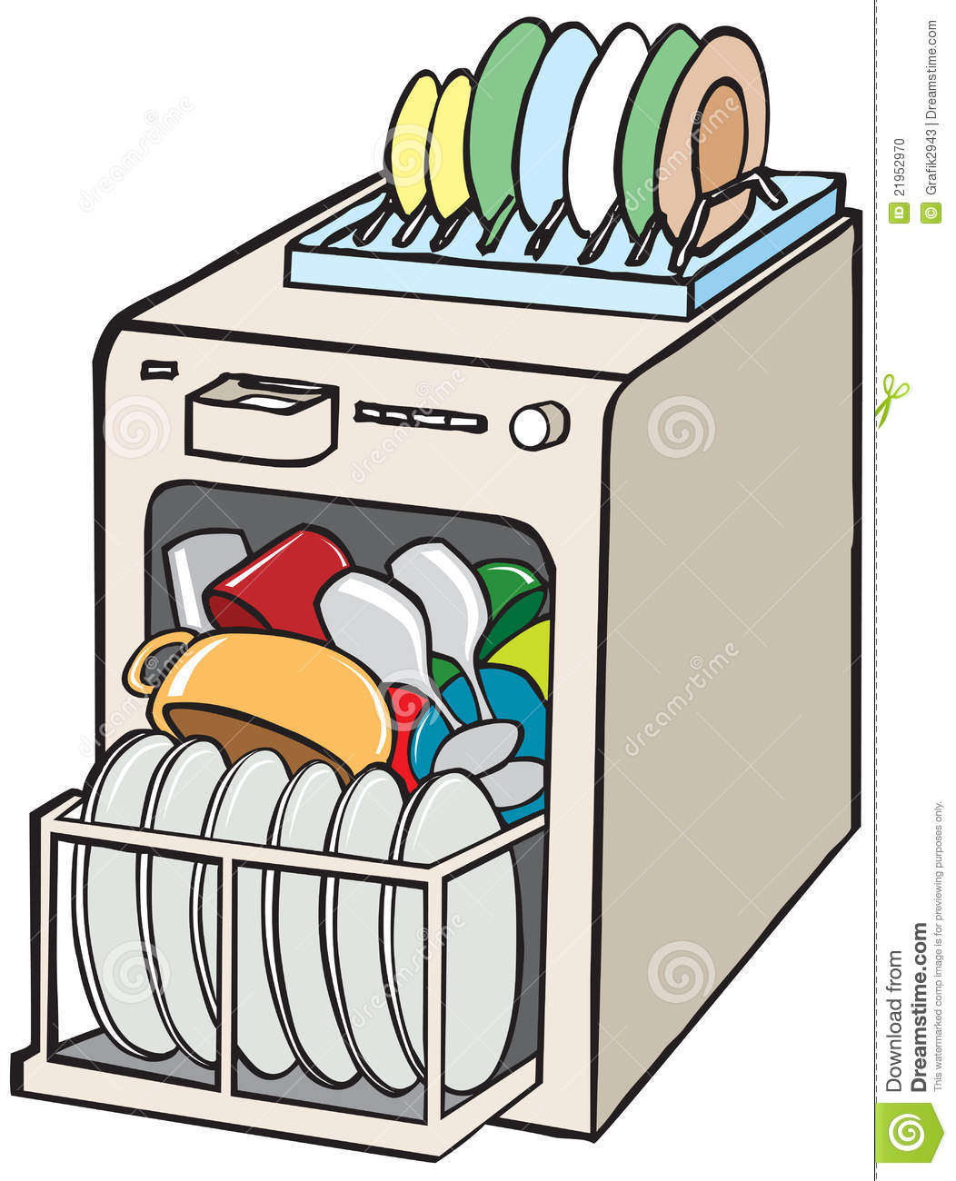 clip art library Dishwasher clipart. Collection of free download.