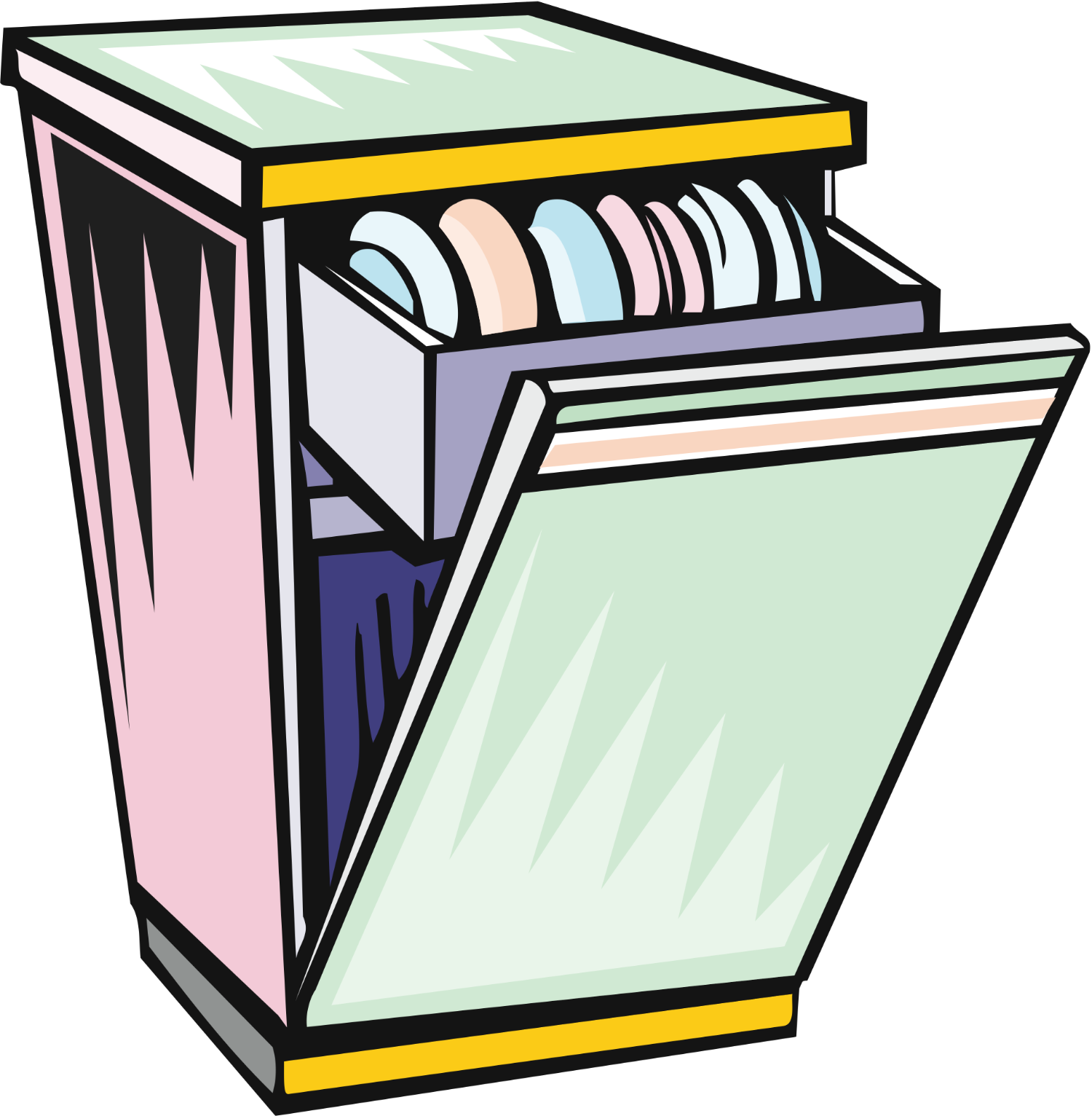 banner stock Free cliparts download clip. Dishwasher clipart.