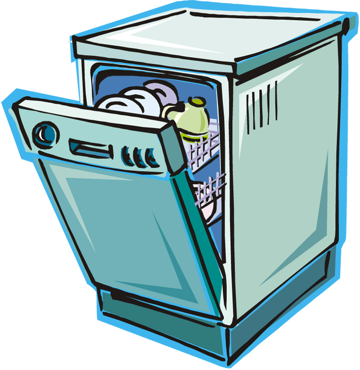 clip art library library Dishwasher clipart. Cliparts zone .
