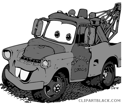 graphic library library Page of clipartblack com. Disney cars clipart black and white