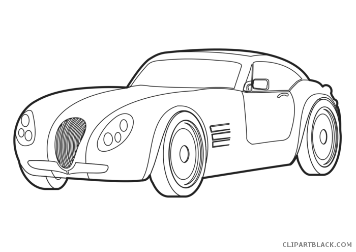picture free stock Car outline clip art. Disney cars clipart black and white