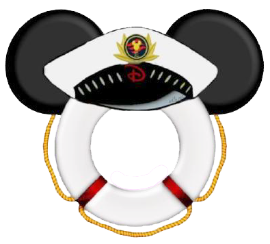 png black and white stock Mickey mouse clip art. Nautical clipart captain hat.