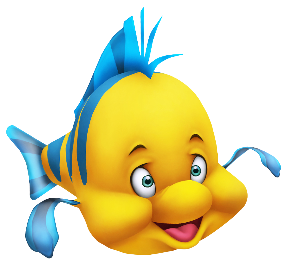 clip library Kids splashing clipart. Little mermaid flounderpng picture