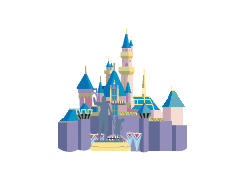 png black and white library Disneyland clipart sleeping beauty castle