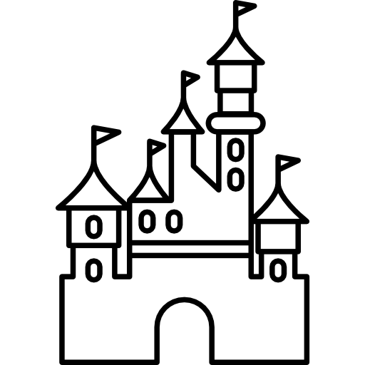 picture royalty free download Disneyland Castle Drawing at GetDrawings
