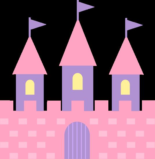 jpg transparent stock Cute Pink Princess Castle