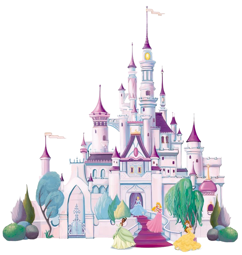 black and white download Best Disney Castle Clipart