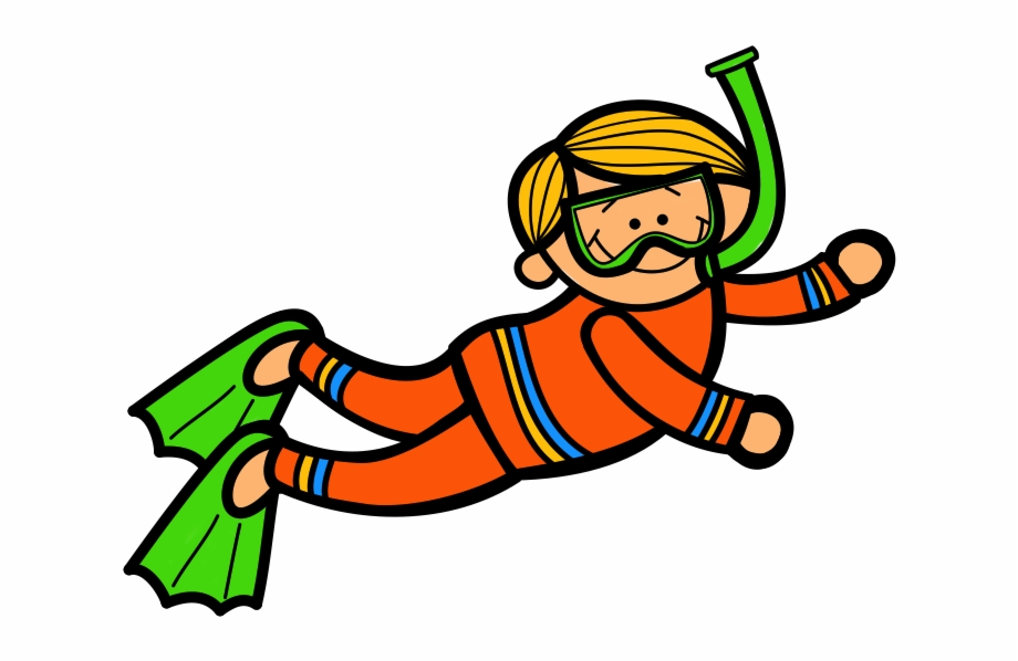 picture library library Woman scuba diving kid. Diver clipart.