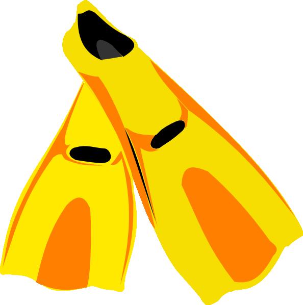 jpg royalty free library Snorkel Fins Clip Art at Clker