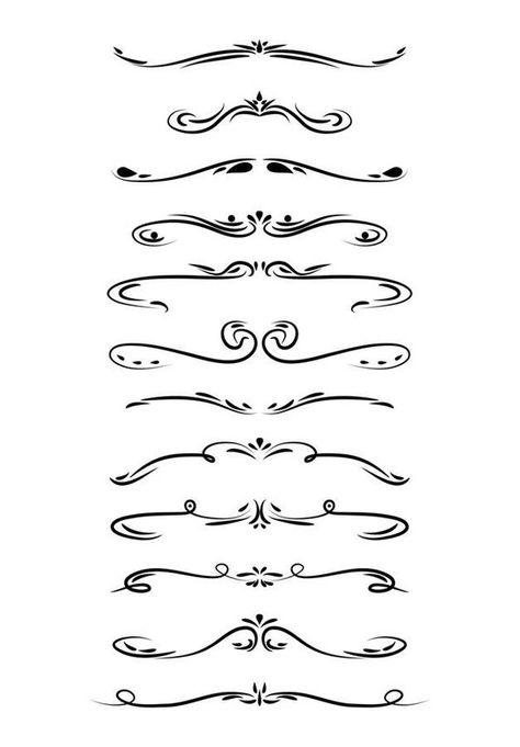 vector transparent library Divider clipart. Wedding page line dividers
