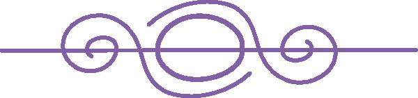 jpg royalty free Purple clip art at. Divider clipart