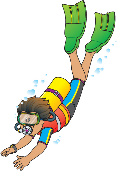 image transparent Free cliparts download clip. Diving clipart.