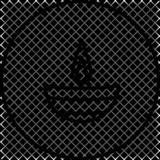 graphic diwali drawing lamp #93375961