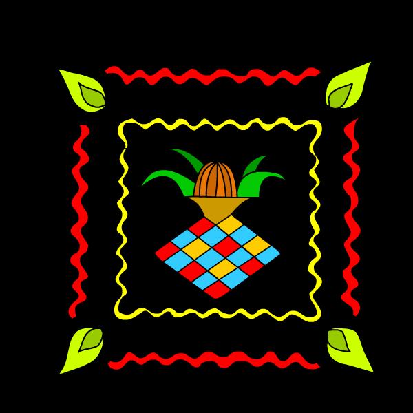 banner free download Diwali Rangoli