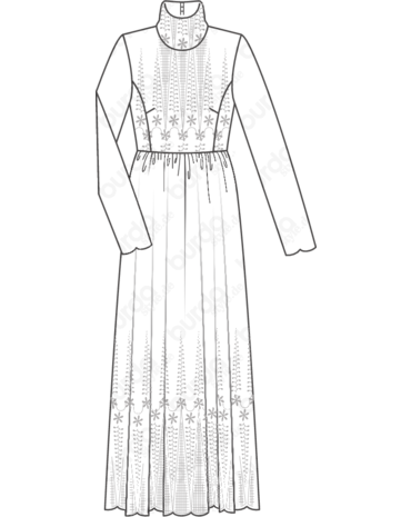 clip art black and white stock drawing robes sketch #95471671