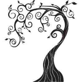 png download Tree On A Wall Drawing at GetDrawings