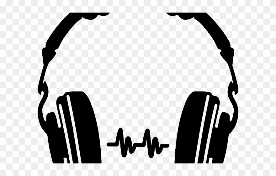 clip library stock Dj clipart. Headset headphones png download.