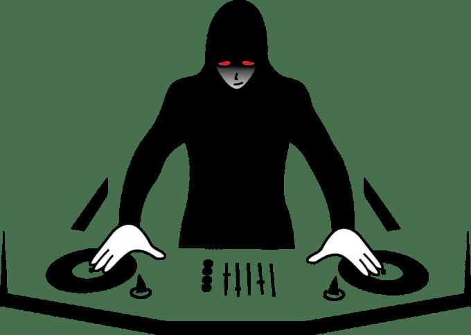 graphic free dj logo png