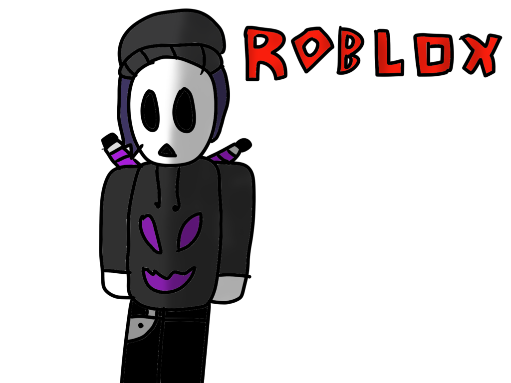 picture royalty free library My ROBLOX character drawing by The