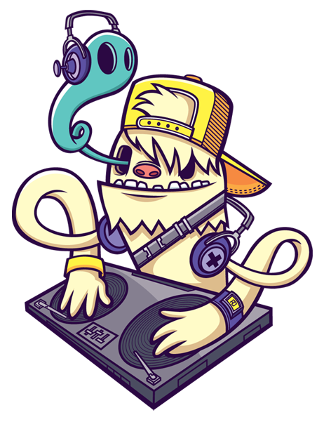 picture royalty free Yeti DJ ID by cronobreaker