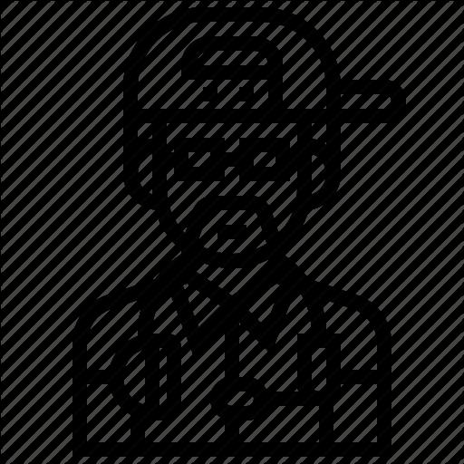 image black and white stock dj drawing man #93410010