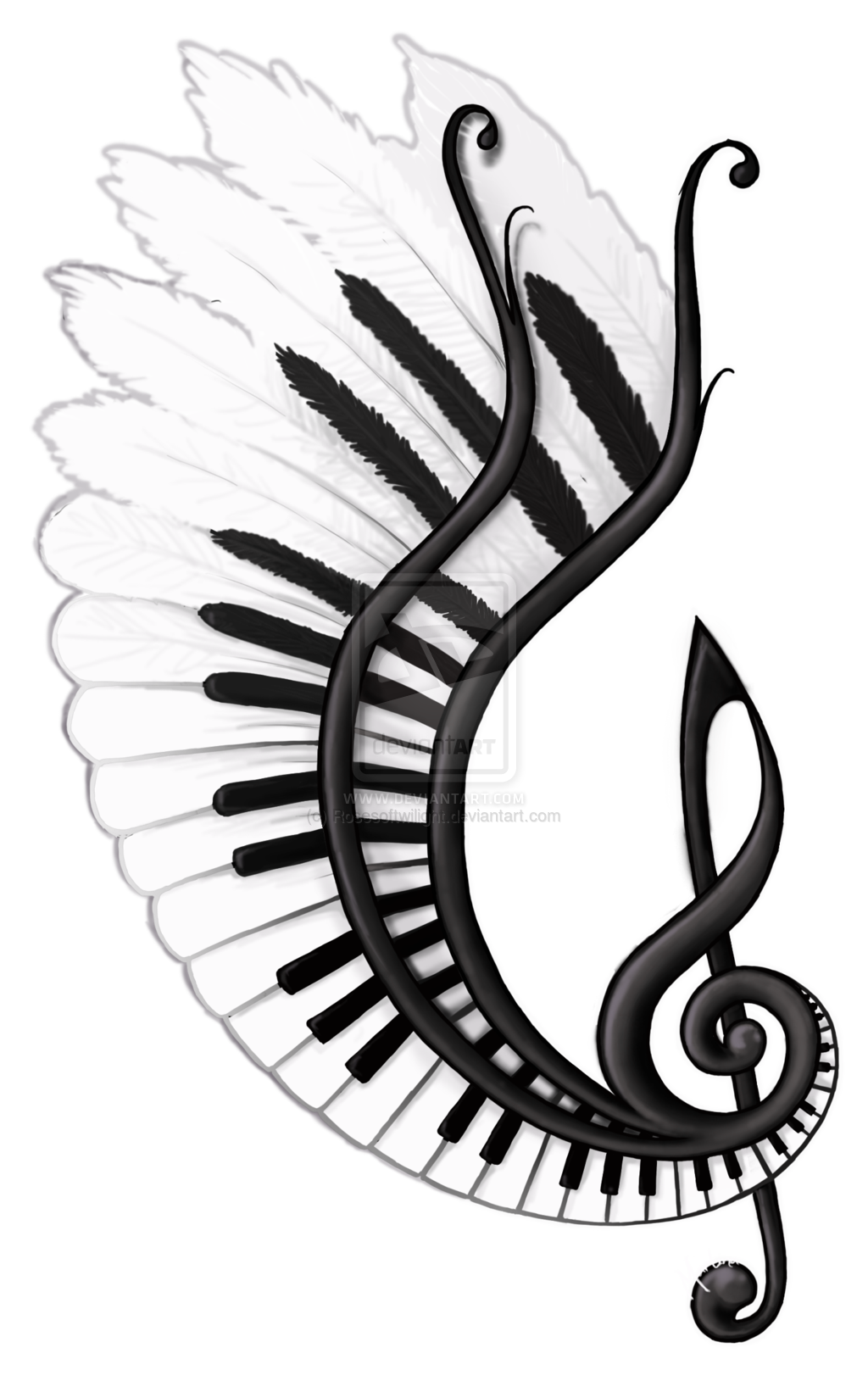 png freeuse library Image result for music. Swans drawing tattoo