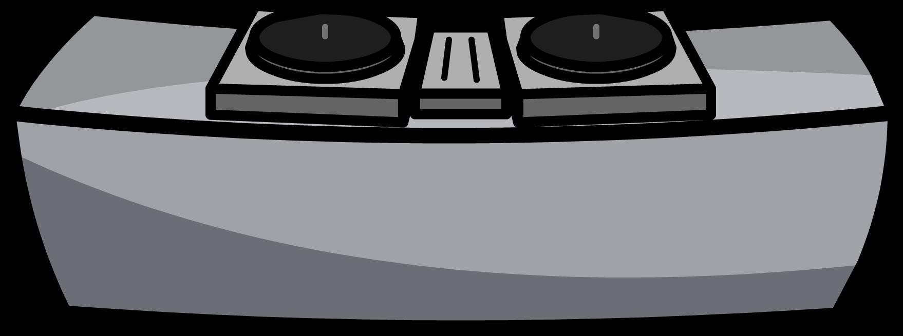 jpg black and white stock dj transparent club #93422481